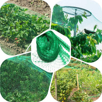 Anti Bird Netting Plastic Pond Fruit Tree Vegetables Net Protection Crops Flower Garden Mesh Protect Net Pest Control - The most popular products on Tiktok | GOWOW