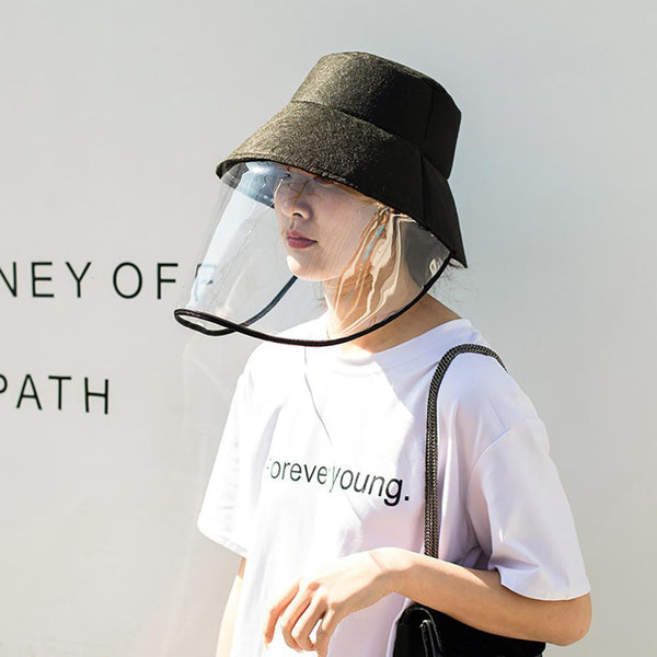 Anti Droplet Spittle Dust-proof Protective Full Face Cover Mask Bucket Caps Hats - The most popular products on Tiktok | GOWOW