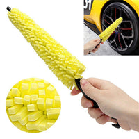 Auto Car Accessories Universal Car Wheel Washing Brush Plastic Handle Vehicle Wheel Rims Care Tire Cleaning Brush Washing Sponge - The most popular products on Tiktok | GOWOW