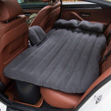 Automotive Air Inflatable Mattress Car Travel Bed Camping Sofa Rear Seat Rest Cushion Rest Sleeping pad Without pump Universal - The most popular products on Tiktok | GOWOW