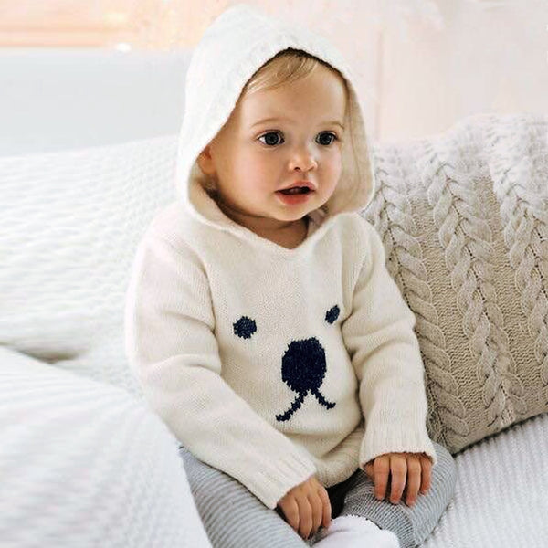 Autumn Knitted Sweaters For Baby Boys Girls Cardigan Cartoon Pattern Newborn Baby Bunny Jumpers Winter Outerwear Infant Knitwear - The most popular products on Tiktok | GOWOW