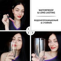 BANXEER Lipgloss Matte 8 Colors Lip Gloss Velvety Lipstick Liquid Matte Waterproof Lip Tint Full & rich Sexy Lip Makeup Cosmetic - The most popular products on Tiktok | GOWOW