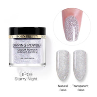 BORN PRETTY 10ml Glitter Dipping nail Powder Nail Art Gradient French Dip nail Power Without UV Lamp Cure Nail Art Decoration - The most popular products on Tiktok | GOWOW