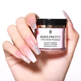 BORN PRETTY 30ml Acrylic Powder Carving Nail Polymer Tip Extension French Pink White Clear Adhesive Rhinestone Nail Art Powder - The most popular products on Tiktok | GOWOW