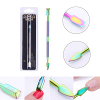 BORN PRETTY Nail Clipper Cutter Stainless Steel Rainbow Tweezer Clipper Dead Skin Remover Edge Cutter Scissor Plier - The most popular products on Tiktok | GOWOW
