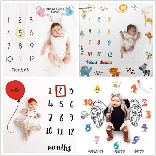 Baby Blanket Background Blanket Newborn Photography Props Infant Rug Baby Boy Girl Milestone Photo Props Photography Accessories - The most popular products on Tiktok | GOWOW