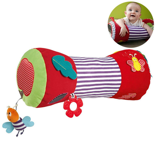 Baby Crawling Roller Baby Soft Stuffed Rolling Pillow Baby Fitness Toy Sport Soft Squishy Stuffed Plush Toys Music Teether #20 - The most popular products on Tiktok | GOWOW
