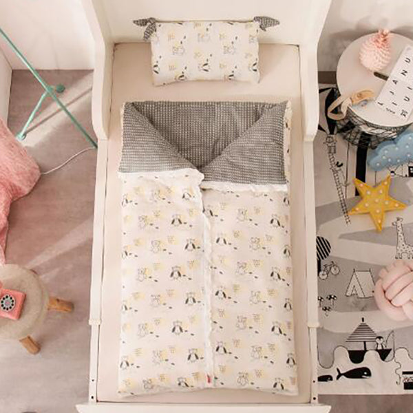 Baby Duvet Cover Kids Cotton Quilt Cover Infant Sleeping Bag Sack Covers Children Printing Comfortable Removable BXX015 - The most popular products on Tiktok | GOWOW