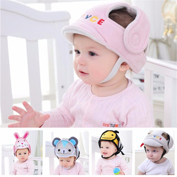 Baby Infant Head Protection Soft Hat Helmet Anti-collision Security Safety Helmet Sport baby play protective cotton caps 20% off - The most popular products on Tiktok | GOWOW