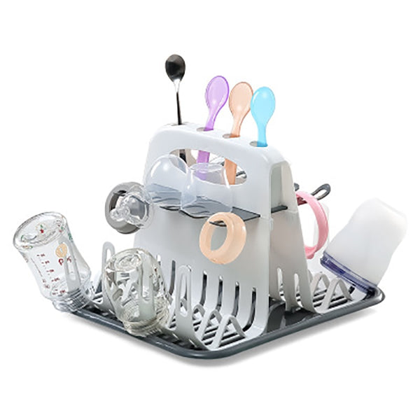 Baby Milk Bottles Drying Rack Portable Cleaning Dryer Storage Holder Multi-layer Detachable with Drain Tray Drying Rack for Kids - The most popular products on Tiktok | GOWOW
