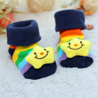 Baby Socks Floor Non-slip Cotton Cartoon Doll socks with bells Baby Girls Boys Soft  Cute Boots - The most popular products on Tiktok | GOWOW