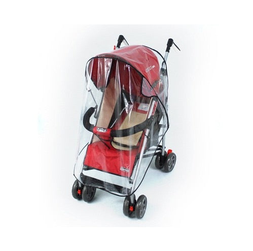 Baby Stroller Rain Cover Windproof Hood Rain Cover Car Windscreen Dust Cover Baby Accessory care - The most popular products on Tiktok | GOWOW