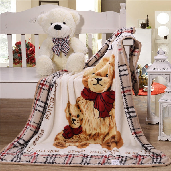 Baby Swaddle Wrap Sheet Swaddle Flannel Throw Sleeping Bag Infant Bedding Cartoon Blanket bebe receiving Blanket 140x100cm - The most popular products on Tiktok | GOWOW