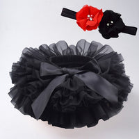 Baby girl tutu skirt 2pcs tulle lace bloomers diaper cover Newborn infant outfits  Mauv headband flower set Baby mesh bloomer - The most popular products on Tiktok | GOWOW