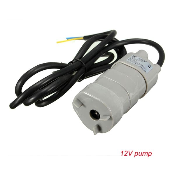 Best Sale 12V 24V 600L/H high pressure Dc Submersible water Pump Three-wire Micro Motor Water Pump with adapter - The most popular products on Tiktok | GOWOW