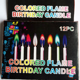 Birthday Party Supplies  12pcs/pack Wedding Cake Candles Safe Flames Dessert Decoration Colorful Flame Multicolor Candle - The most popular products on Tiktok | GOWOW