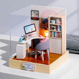 CUTE ROOM Doll House Furnitures Box Theatre DIY Model Miniatures Wooden Dollhouse Toys For children Countryside Notes - The most popular products on Tiktok | GOWOW
