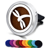 Car Air Freshener Car Perfume Diffuser Clip Car Air Auto Vent Freshener Essential Oil Perfume Locket (Free 10pc pad)  C001 - The most popular products on Tiktok | GOWOW