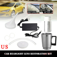 Car Headlight Lens Repair Tool Restoration Heating Atomization Cup Restore Kit - The most popular products on Tiktok | GOWOW