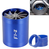 Car Turbine Supercharger F1-Z Turbo Charger Single Double Air Filter Intake Fan Fuel Gas Saver Kit Auto Replacement Part - The most popular products on Tiktok | GOWOW