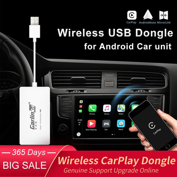 Carlinkit Wireless Smart Link Apple CarPlay Dongle for Android Navigation Player Mini USB Carplay Stick with Android Auto - The most popular products on Tiktok | GOWOW