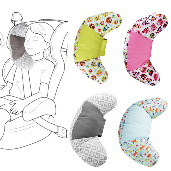 Children Car Styling Neck Headrest Cushion Car Seat Belts Pillow Kids Shoulder Safety Strap Protection Pads Support Baby Care - The most popular products on Tiktok | GOWOW