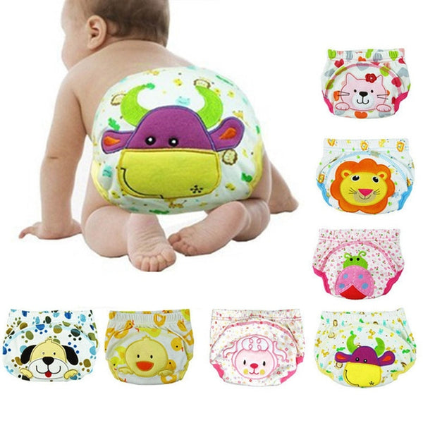 Children Cartoon Potty Leak-proof Diapers Training Pants Cotton Panties 80 90 100 Cm Briefs Newborn Underwear For Baby Boy - The most popular products on Tiktok | GOWOW