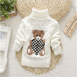Children Clothes High Quality Baby Girls Boys Pullovers Turtleneck Sweaters Autumn Winter Warm Cartoon clothes wear Kids Sweater - The most popular products on Tiktok | GOWOW