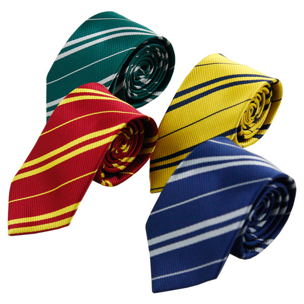 College Tie Gryffindor / Slytherin / Hufflepuff / Ravenclaw   Tie Halloween Characters Play Costume Kids Party Dress Up - The most popular products on Tiktok | GOWOW