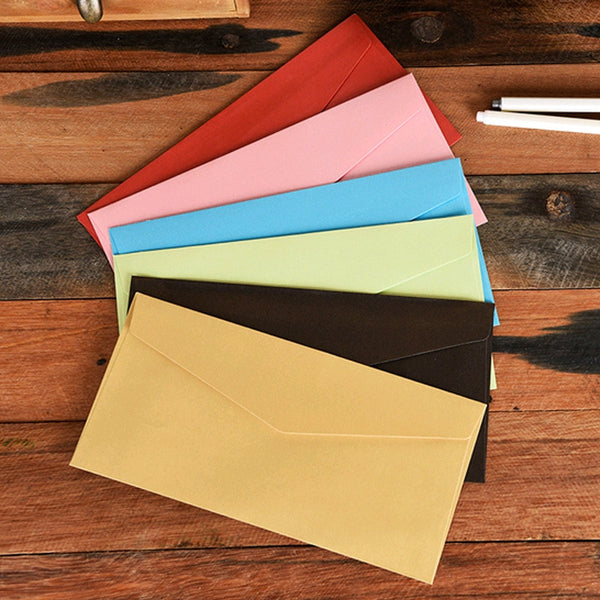Coloffice 10PCs Vintage Western Envelope Creative Glossy Fire Envelope Colored Invitation Envelope School Office Supplies - The most popular products on Tiktok | GOWOW