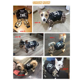 Cool FBI Pet Dog Clothes Overall Thickening Dog Puppy Jumpsuit Costume Warm Winter Clothing For Boy Dogs Ropa Para Perros - The most popular products on Tiktok | GOWOW