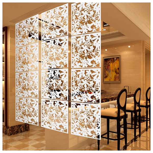 Decoration for home Fashion 4 Pcs Butterfly Bird Flower Hanging Screen Partition Divider Panel Room Curtain Home White/Black/Red - The most popular products on Tiktok | GOWOW