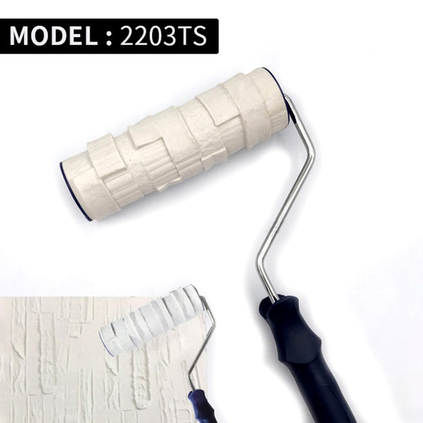 Decorative Paint Roller Patterned Painting Tool for Wall  Rubber Protection Stamp Polyurethane Textured Paint Pottery Wheel 2203 - The most popular products on Tiktok | GOWOW