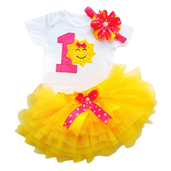 Dress for Girl Baby Christening Gown First 1st Birthday Party Girl Baby Clothing Toddler Summer Clothes Infant Vestido Infantil - The most popular products on Tiktok | GOWOW