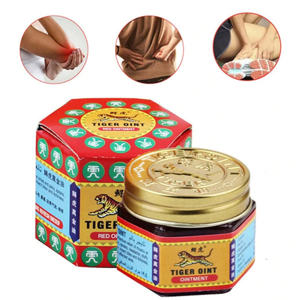 Dropship 1pcs 100% Original Red Tiger Balm Ointment Thailand Painkiller Ointment Muscle Pain Relief Ointment Soothe Itch 19.5g - The most popular products on Tiktok | GOWOW