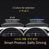 EANOP HUD Mirror 04 Car Head up display Windshield Speed Projector Security Alarm Water temp Overspeed RPM Voltage - The most popular products on Tiktok | GOWOW