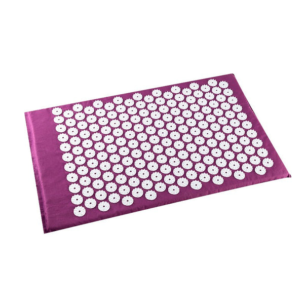 Eco Mat Acupressure Massager Natural Linen Cotton Acupuncture Mats +Pillow Back Reflexology Trigger Point Massage Stress Relief - The most popular products on Tiktok | GOWOW
