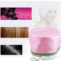Electric Hair Cap Hat Salon Spa Steamer Hair Thermal Treatment Nourishing Hair Mask Baking Oil Cap Hair Dryers Heat Hat - The most popular products on Tiktok | GOWOW