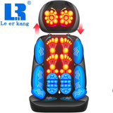 Electric full body massage chair neck back waist massage cushion heat & vibrate massage pad as a gift for wife parents LEK-918L - The most popular products on Tiktok | GOWOW