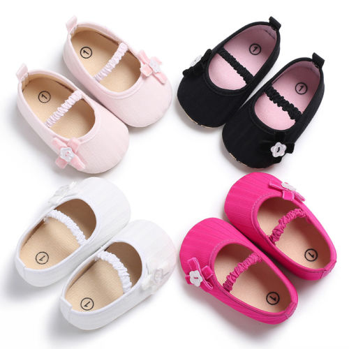 Emmababy Crib Shoes Toddler Baby Shoes Newborn Girls Soft Soled Princess Crib Shoes Prewalker 0-18M - The most popular products on Tiktok | GOWOW