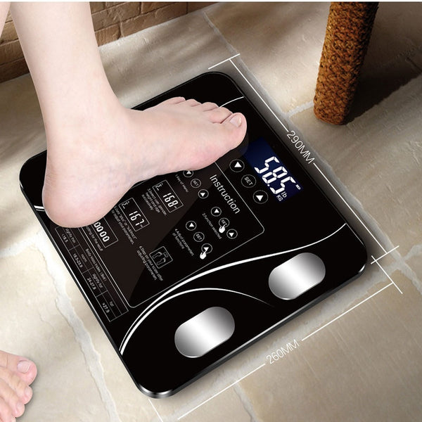 English-Loose Sakura Smart Household Weighing Scale Small Fat Scale  LED Digital English Version Functions Display On The Screen - The most popular products on Tiktok | GOWOW