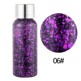 Eyeshadow Glitter Nail Hair Body Face Glitter Gel Art Flash Heart Loose Sequins Cream Decoration Party Festival Glitter TSLM1 - The most popular products on Tiktok | GOWOW