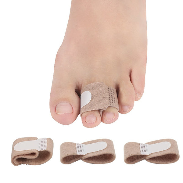 Fabric Toe Finger Straightener Hammer Toe Hallux Valgus Corrector Bandage Toe Separator Splint Wraps Foot Stretcher Care Tool - The most popular products on Tiktok | GOWOW