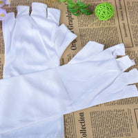 Fashion Nail Tool Uv Radiation Protection Phototherapy Nail Gloves 1pc 459-UV-Glove - The most popular products on Tiktok | GOWOW