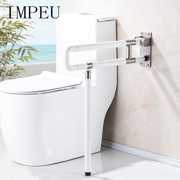 Flip Up Toilet Safety Frame Rail Shower Grab Bar for Elders Senior Kids Care, Bathroom Handrail, Folding Shower Seat, Bath Chair - The most popular products on Tiktok | GOWOW