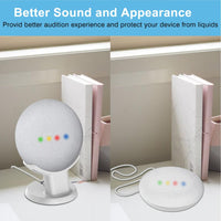 For Google Nest Mini Desktop stand table holder Voice Assistants Compact Holder Case Plug in Kitchen Bedroom Study Audio Mount - The most popular products on Tiktok | GOWOW