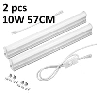 Full Set T5 Tube 29/57CM + EU Power Plug Switch Cable + Connection Wire Accessories Cabinet Kitchen LED Lights Wall Lamp 220V - The most popular products on Tiktok | GOWOW
