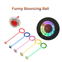 Funny Bouncing Balls One Foot Flashing Skip Ball Jump Ropes Sports Swing Ball Children Fitness Playing Entertainment Toys - The most popular products on Tiktok | GOWOW