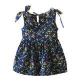 Girls Dress Summer Girl Party Dresses Kid Princess Party Clothes Sleeveless Ribbons Bow Floral Vest Dress Princess Roupa Infanil - The most popular products on Tiktok | GOWOW