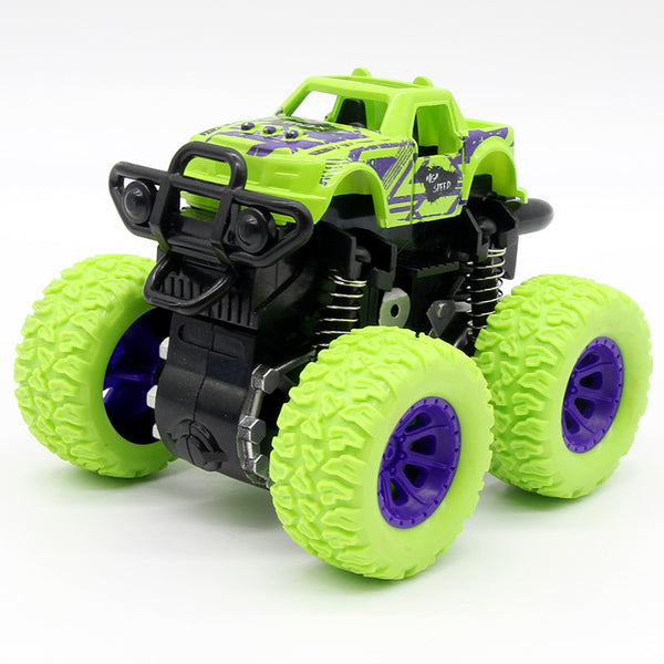 Green Kids Cars Toys Monster Truck Inertia SUV Friction Power Vehicles Baby Boys Super Cars Blaze Truck Children Gift Toys - The most popular products on Tiktok | GOWOW